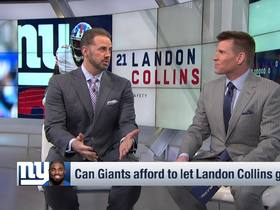 Watch: O'Hara: Giants 'can't afford' to let Landon Collins hit free agency