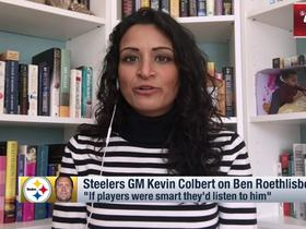 Watch: Kinkhabwala: 'Quite a few' Steelers vets are 'skeptical' about GM's comments