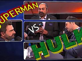 Watch: DDFP: Paul Rudd, Franco Harris on Hulk vs. Superman