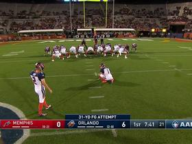 Watch: Elliott Fry nails 31-yard field goal