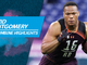 Watch: David Montgomery's 2019 NFL Scouting Combine workout
