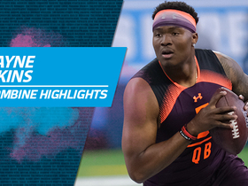 Watch: Dwayne Haskins' 2019 NFL Scouting Combine workout