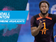 Watch: Kendall Blanton's full 2019 NFL Scouting Combine workout