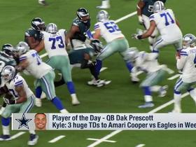Watch: Player of the Day: 'GMFB' shares the most memorable moments from Dak Prescott's 2018 season