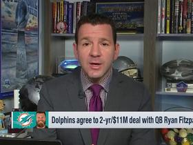 Watch: Rapoport breaks down Ryan Fitzpatrick's deal with the Dolphins