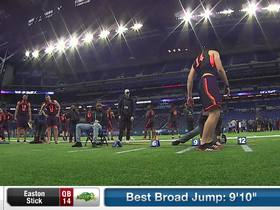 Watch: Easton Stick's 2019 NFL Scouting Combine workout