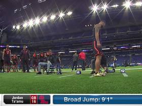 Watch: Jordan Ta'amu's 2019 NFL Scouting Combine workout