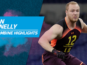 Watch: Ryan Connelly's full 2019 NFL Scouting Combine workout
