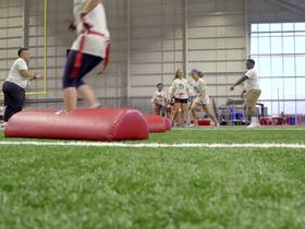 Watch: Bucs Girls Flag Football Weekend gives students a chance to shine