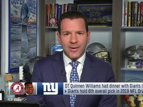 Watch: Rapoport: Quinnen Williams will visit with top seven teams picking in draft