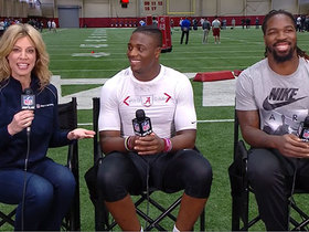Watch: C.J. joins brother Jamey Mosley after Alabama pro day