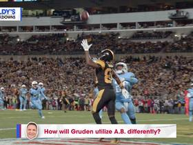 Watch: How will Gruden utilize A.B. differently? | Baldy's Breakdowns