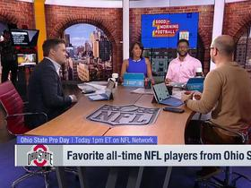 Watch: 'GMFB' highlights their favorite NFL players from the Ohio State University