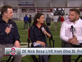 Watch: Nick Bosa explains why Dwayne Haskins' 'quiet' leadership style was effective