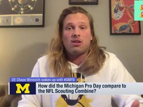 Watch: Chase Winovich joins 'GMFB' to discuss draft process, recent surgery, Pro Day