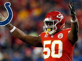 Watch: Justin Houston signing with the Indianapolis Colts