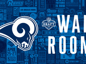 Watch: Rams' 2019 draft war room: Projecting L.A.'s selections
