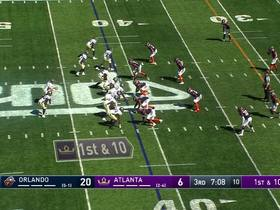 Watch: Deji Olatoye returns pick-six for 65 yards!