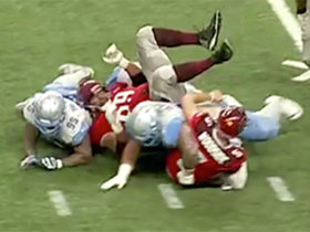 Watch: Stallions defense comes up with sack to force fourth down