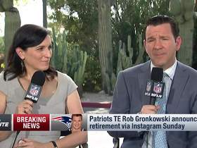 Watch: Rapoport explains why Rob Gronkowski is retiring