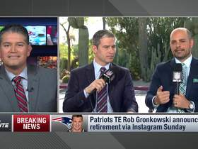 Watch: Mike Giardi gives insight on what could have possibly brought back Rob Gronkowski