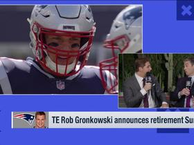 Watch: Mike Giardi: No one can do what Gronk does