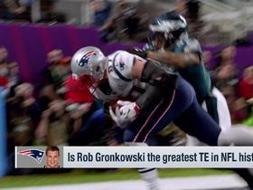 Watch: Schrager: Gronk is the greatest TE to ever play the game