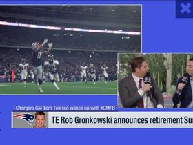 Watch: Tom Telesco weighs in on Rob Gronkowski's retirement