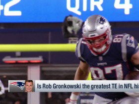Watch: Trotter: 'Pump the brakes' on Gronk's first-ballot HOF talks