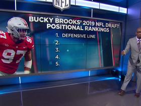 Watch: Bucky Brooks' top five position groups in 2019 draft