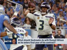 Watch: How should Seattle address the final year of Russell Wilson's contract?