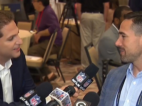 Watch: LaFleur reacts to Packers opening NFL's 100th season