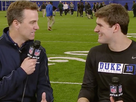 Watch: Daniel Jones: I want to play pickup with Zion, but it 'might turn into a dunk contest'