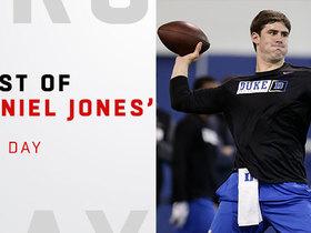 Watch: Best of Daniel Jones' pro day