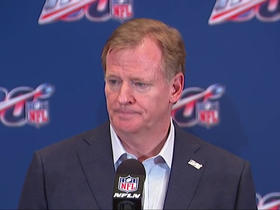 Watch: Goodell on Wilf Family donation: 'Their generosity in their communities has been exemplary'