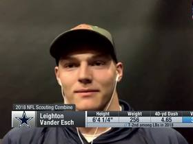 Watch: Vander Esch reflects on his rookie season
