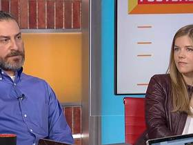 Watch: Meet the minds behind the 2019 NFL schedule: Mike North and Charlotte Carey