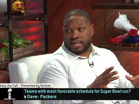 Watch: Teams with best path to Super Bowl