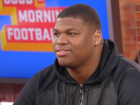 Watch: Quinnen Williams explains how 'Double Stuf Oreos' helped fuel his combine performance
