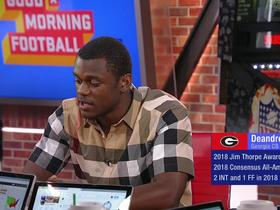 Watch: Deandre Baker explains how his 'understated' style has helped him in the draft process