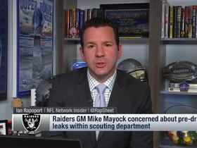 Watch: Rapoport explains why Raiders are sending scouts home before 2019 draft