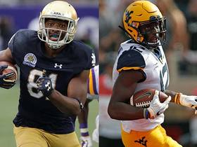 Watch: Two 2019 draft WR prospects people are sleeping on