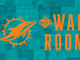 Watch: Dolphins' 2019 draft war room: Projecting Miami's selections