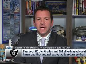 Watch: Rapoport: Expect 'significant turnover' in Raiders' scouting department