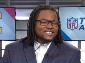 Watch: Rashan Gary promises to win a Super Bowl and then return to 'NFL Total Access'