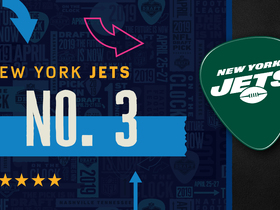 Watch: Jets pick No. 3 | Mock Draft Live