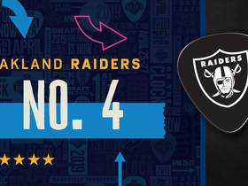 Watch: Raiders pick No. 4 | Mock Draft Live
