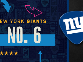 Watch: Giants pick No. 6 | Mock Draft Live