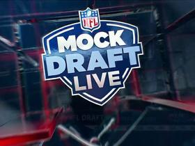Watch: Lions pick No. 8 | Mock Draft Live