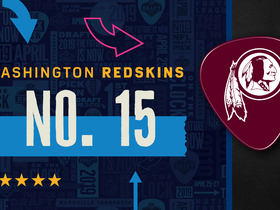 Watch: Redskins pick No. 15 | Mock Draft Live